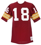 1971-73 Sam Wyche Washington Redskins Home Jersey (MEARS LOA)
