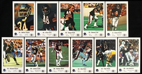 1981 Chicago Bears Police & Kiwanis Club Trading Cards Including Walter Payton, Jim Osborne and more (Lot of 11)