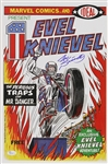 1974 Joe Sinnott Evel Knievel Signed 11x17 Color Print (JSA)