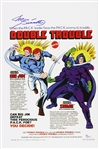 1975 Joe Sinnott Big Jim Double Trouble Signed 11x17 Color Print (JSA)