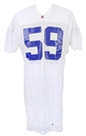 1995 Brian Williams New York Giants Practice Jersey (MEARS LOA)