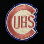 1950s-60s Chicago Cubs Remvoed Uniform Patch