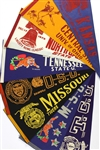 30+ Lot College Pennants