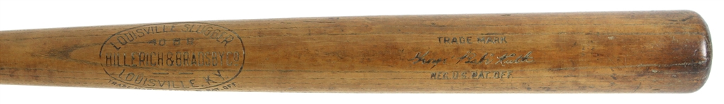1918-22 Babe Ruth Red Sox/Yankees H&B Louisville Slugger 40 BR Store Model Bat (MEARS Authentic) High Grade Example