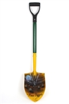 "1999 Gilbert Brown ""The Grave Digger"" Green Bay Packers Signed Customized 39"" Shovel (JSA)"