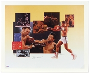"1990s Muhammad Ali Signed 18""x 22"" limited edition lithograph Poster (PSA/DNA)"