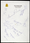 1960s-1980s LPGA / PGA Golfers Signed Best Western Stationary *JSA Full Letter*