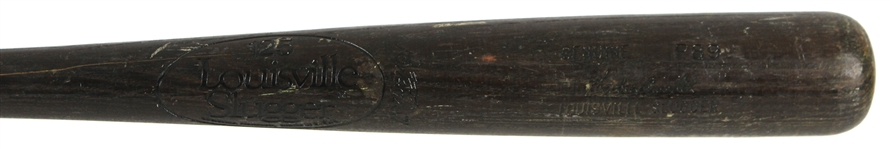 1981-83 Hubie Brooks New York Mets Louisville Slugger Professional Model Game Used Bat (MEARS LOA)