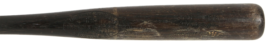 1977-79 Alfredo Griffin Indians/Blue Jays H&B Louisville Slugger Professional Model Game Used Bat (MEARS LOA)