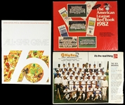 1970s-1980s Milwaukee Brewers Team Photo, Souvenir Magazine, and American League Red Book