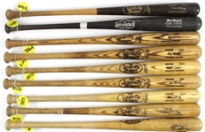 1977-94 Professional Model Game Used Bat Collection - Lot of 26 w/ Bill Robinson, Ozzie Virgil, Juan Samuel, Willie Upshaw, Rich Renteria & More (MEARS LOA)