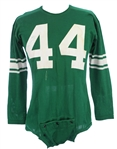 1960 Roy Garcia East Los Angeles Junior College Signed Game Worn Football Jersey (MEARS LOA)