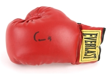 1990s Cassius Clay Signed Everlast Boxing Glove (JSA Full Letter)
