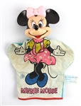 "1950s Minnie Mouse Walt Disney 10"" Hand Puppet"