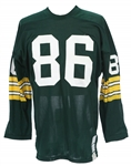 1970-72 Green Bay Packers #86 Home Jersey (MEARS LOA)