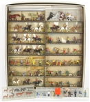 Walter Merten HO-Scale Figures Made in Germany (Lot of 17)
