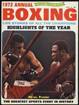 1972 Muhammad Ali & Joe Frazier Signed Annual Boxing Magazine (JSA)