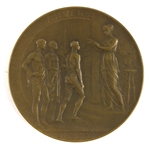 "1920 Antwerp Olympic Games Scarce High-Grade 2 1/4"" Participation Medal"
