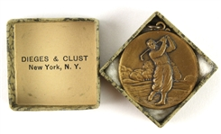 "1920s ""Hole-in-One"" U.S. 1 1/4"" Golf Medal"