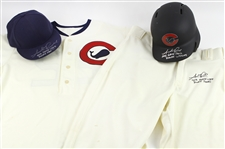 2015 Addison Russell Rookie Chicago Cubs Autographed Game-Used Rookie Uniform Commemorating 1915 Chicago Whales w/ Jersey, Pants, Cap & Batting Helmet (MEARS LOA/MLB Hologram)(PSA/DNA)