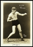 "1920s Ray Heling Fighitng Marine  5""x 7"" Boxing Photo"