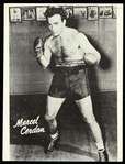 "1934-1949 Marcel Cerdan French Pied-Noir Boxer 7""x 9"" Picture Pack Insert"