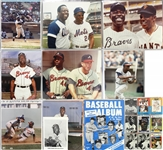 1950s-2000s Hank Aaron & Milwaukee Braves Trading Cards, Programs, Photos, and more (Lot of 230+)