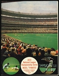 1972 Cincinnati Reds / Pittsburgh Pirates National League Championship Series Program