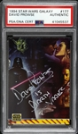 1994 David Prowse Star Wars Galaxy Signed Trading Card (PSA/DNA Slabbed)