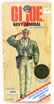 "1996 G.I. Joe Navy Admiral Hasbro Limited Edition WWII 50th Anniversary Commemorative 12"" Figure"