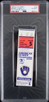 1982 Milwaukee Brewers American League Championship Series Game 5 Ticket Stub (PSA/DNA Slabbed)