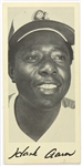 1973 Hank Aaron Atlanta Braves Career Home Run Log Pamphlet
