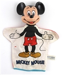"1950s Mickey Mouse Walt Disney 10"" Hand Puppet"