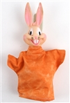 "1950s Bugs Bunny Looney Tunes 10"" Hand Puppet"