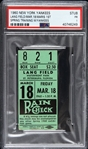 1960 Roger Maris New York Yankees 1st Spring Training Game Ticket Stub (PSA/DNA Slabbed)