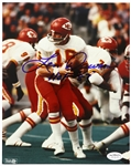 1977-87 Len Dawson Kansas City Chiefs Signed Autographed HOF 8 x 10 Photo *JSA*
