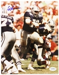 "1974-1989 Ed Jones Dallas Cowboys Signed 8""x 10"" Photo *JSA*"