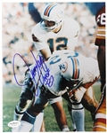 "1970-1979 Jim Langer Miami Dolphins Signed 8""x 10"" Photo *JSA*"