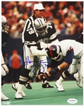 "1973-83 Harvey Martin Dallas Cowboys Signed 8""x 10"" Photo *JSA*"