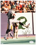"1985-1992 Al Toon New York Jets Signed 8""x 10"" Photo *JSA*"