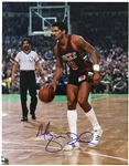 "1977-1984 Marques Johnson Milwaukee Bucks Signed 11""x 14"" Photo (JSA)"