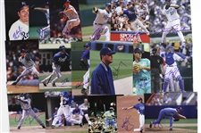 "1970s-2000s Kansas City Royals Signed 8""x 10"" Photos Including Willie Wilson, Gary Gaetti, Bob Melvin, and more (Lot of 90+)(JSA)"
