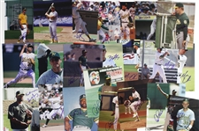 "1980s-2000s Oakland A's Signed 8""x 10""Photos Including Tony LaRussa, Rickey Henderson, Goose Gossage, and more (Lot of 85+)(JSA)"