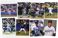 "1990s-2000s Tampa Bay Rays Signed 8""x 10"" Photos Including Jose Canseco and more (Lot of 8)(JSA)"