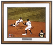 "1995-2014 Derek Jeter & Alfonso Soriano New York Yankees Signed 23""x 27"" Framed Photo (JSA)"