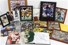 1990s-2000s Green Bay Packers Signed Photos, Footballs, Plaques and more (Lot of 25+)(JSA)