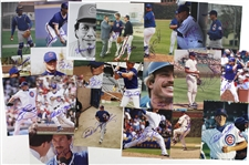 "1970s-2000s Chicago Cubs Signed 8""x 10"" Photos Including Leon Durham, Goose Gossage, Bill Buckner and more (Lot of 95+)(JSA)"