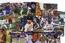 "1980s-2000s San Diego Padres Signed 8""x 10"" Photos Including Steve Garvey, Tony Gwynn, and more (Lot of 95+)(JSA)"
