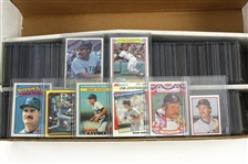 1983-1997 Wade Boggs Baseball Cards Including Topps, Score, Bowman and more (Lot of 350+)