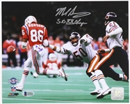 1985 Mike Singletary Chicago Bears Autographed 8x10 Color Photo (Beckett COA)